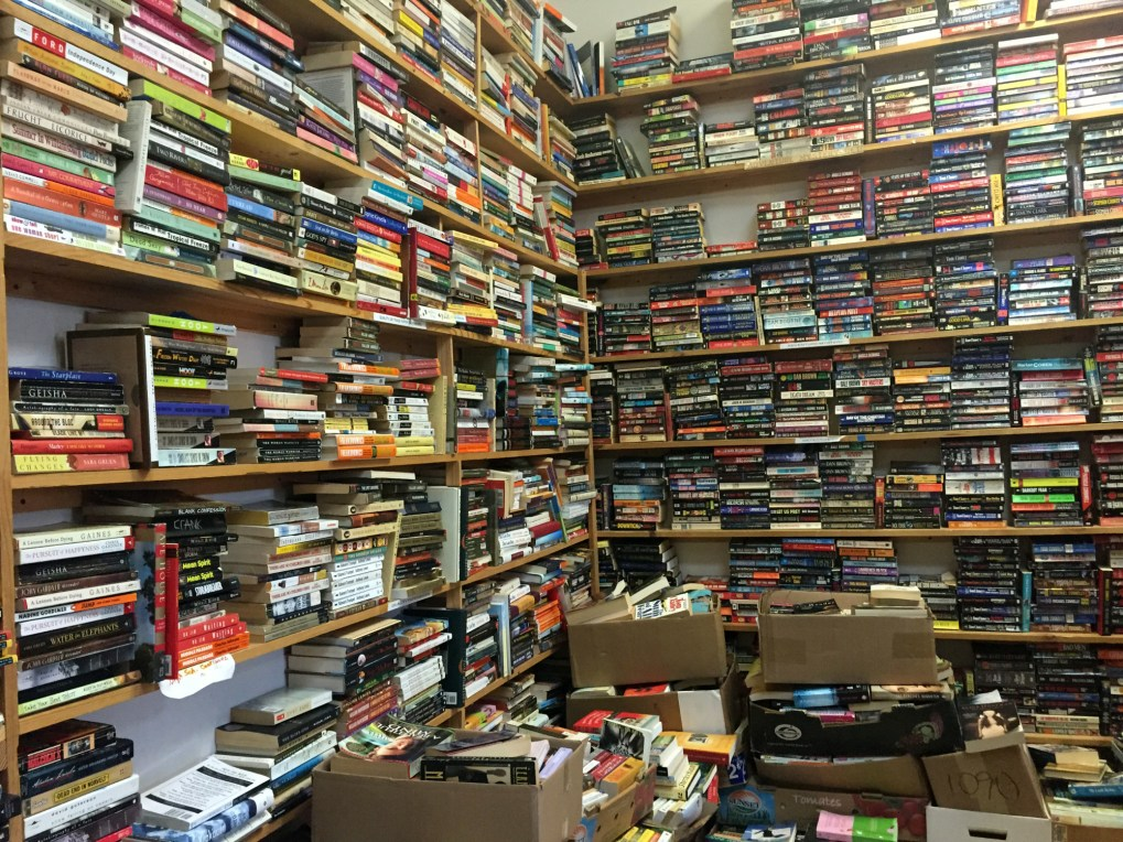 Since the 70s, Book Barn has crammed its tiny shop with books from the ceiling to the floor. (Ashley Martinez photo)