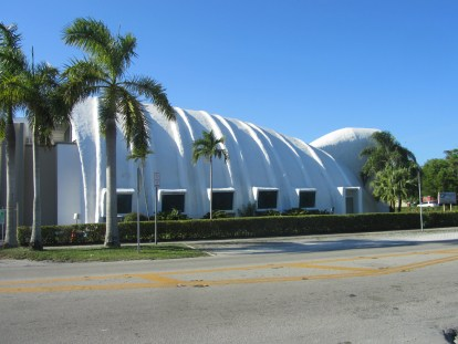 """The notable building is also known as """"la ballena"""" in Spanish. (Ashley Martinez photo)"""