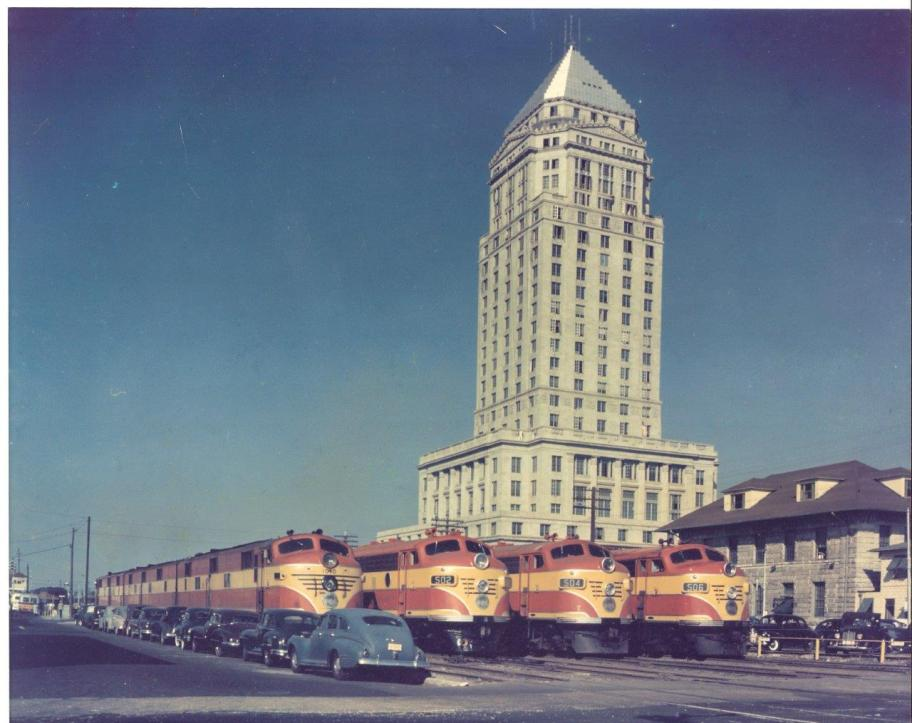 Dade County Courthouse in Downtown Miami In early 1948.(