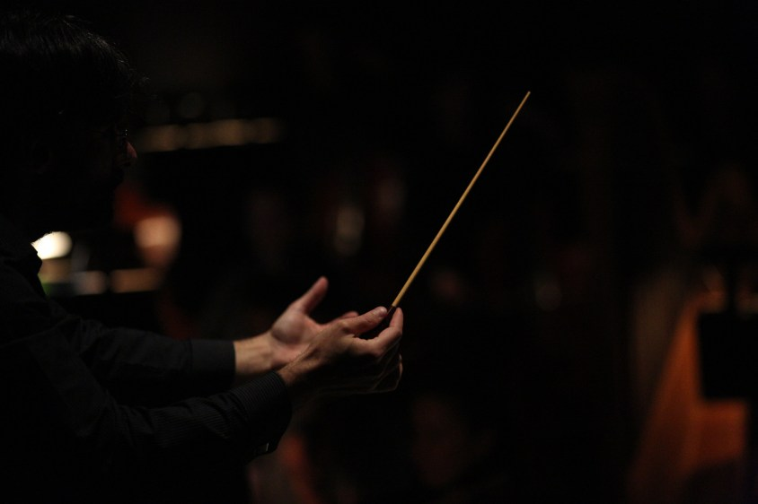 Conductor (Courtesy of Daniel Azoulay for Florida Grand Opera)
