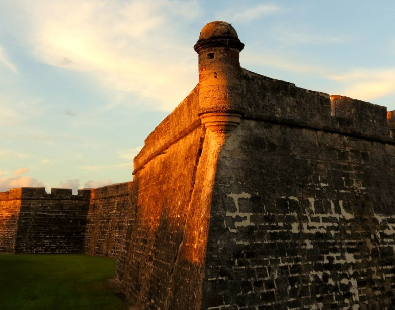 Spanish fort in St. Augustine. (Courtesy of Sandy Auriene Sullivan/Flickr Creative Commons)