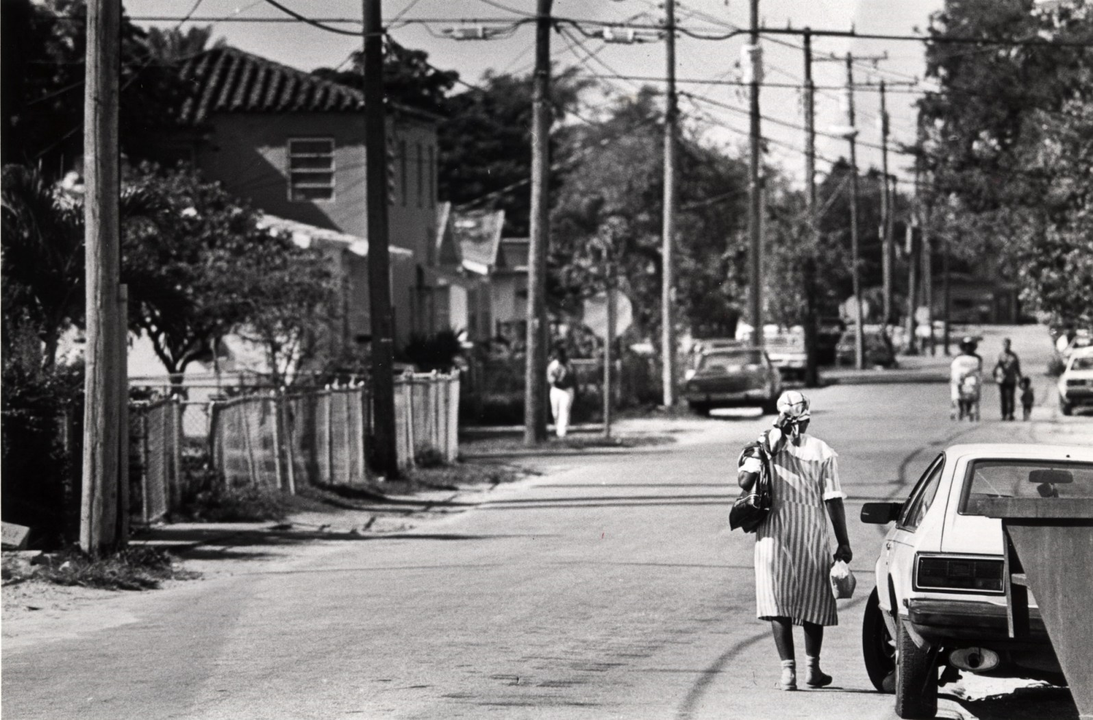 Street scene in Little Haiti from Dec. 3, 1987. (Courtesy of Miami News Collection/HistoryMiami Museum)