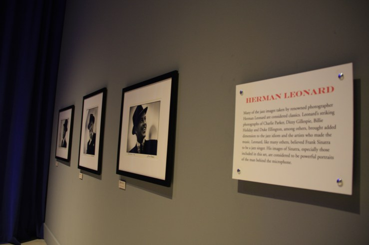A wall of iconic photos.