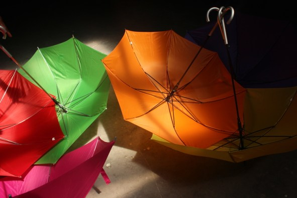 Umbrellas (Courtesy of Urban Impact Lab)