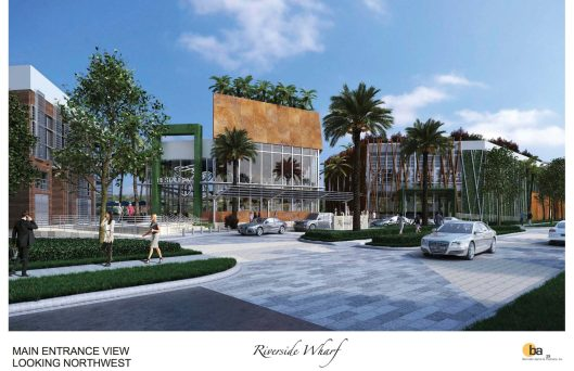 A rendering of Riverside Wharf (Courtesy of Riverside Wharf LLC)
