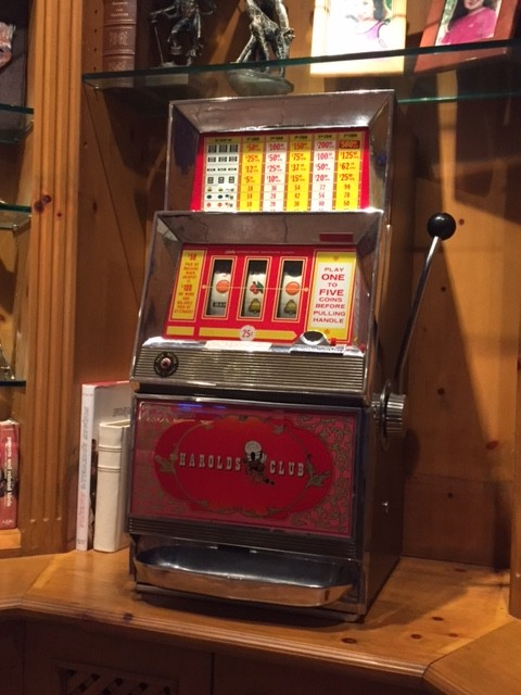 A 1967 slot machine Deutch bought at an estate sale. (Courtesy of Richard Deutch)