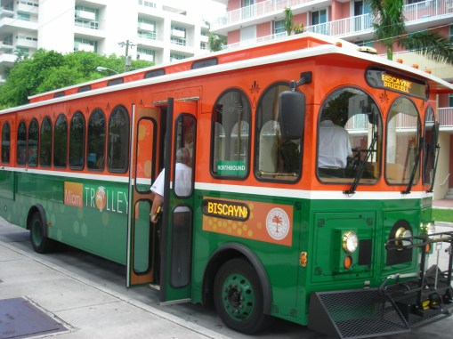 City of Miami trolley
