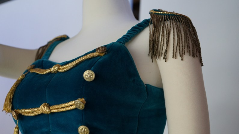 The bodice on costume for Stars and Stripes.(Credit: Roshan Nebhrajani/The New Tropic)