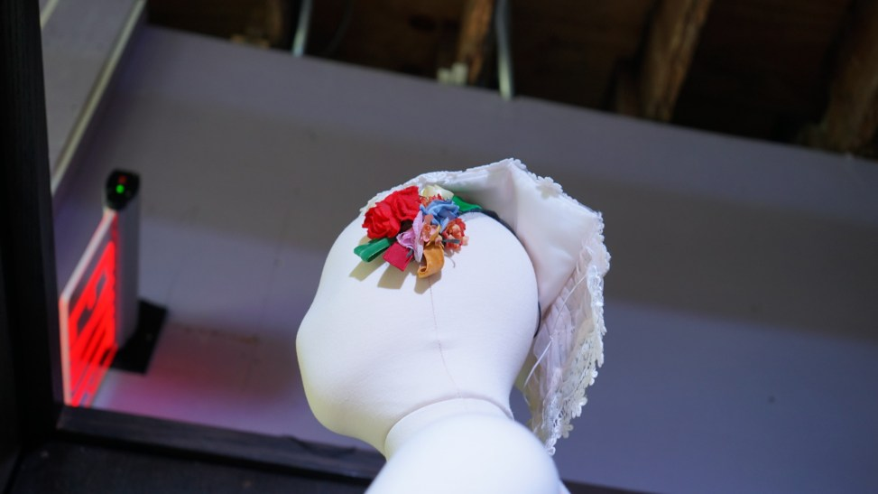 The headpiece on a costume for Tarantella (Credit: Roshan Nebhrajani/The New Tropic)