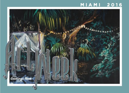 The Closing Ceremony by Alex Zastera // We're handing out Miami Art Week postcards all this week. Find us at Superfine! and at other fairs around town.