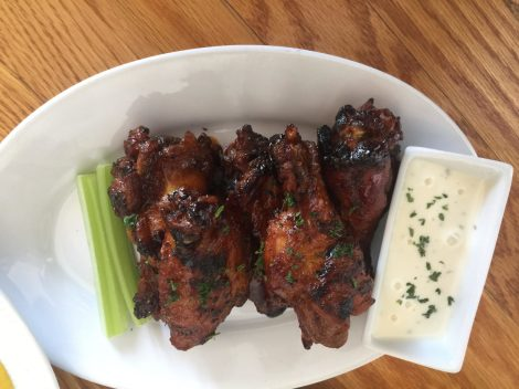 BBQ Smoked Wings at Lil Greenhouse Grill. (Photo Courtesy of Lil Greenhouse Grill)