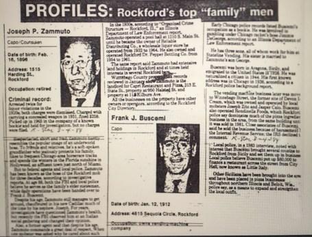 The Joseph Zammuto Family exposed