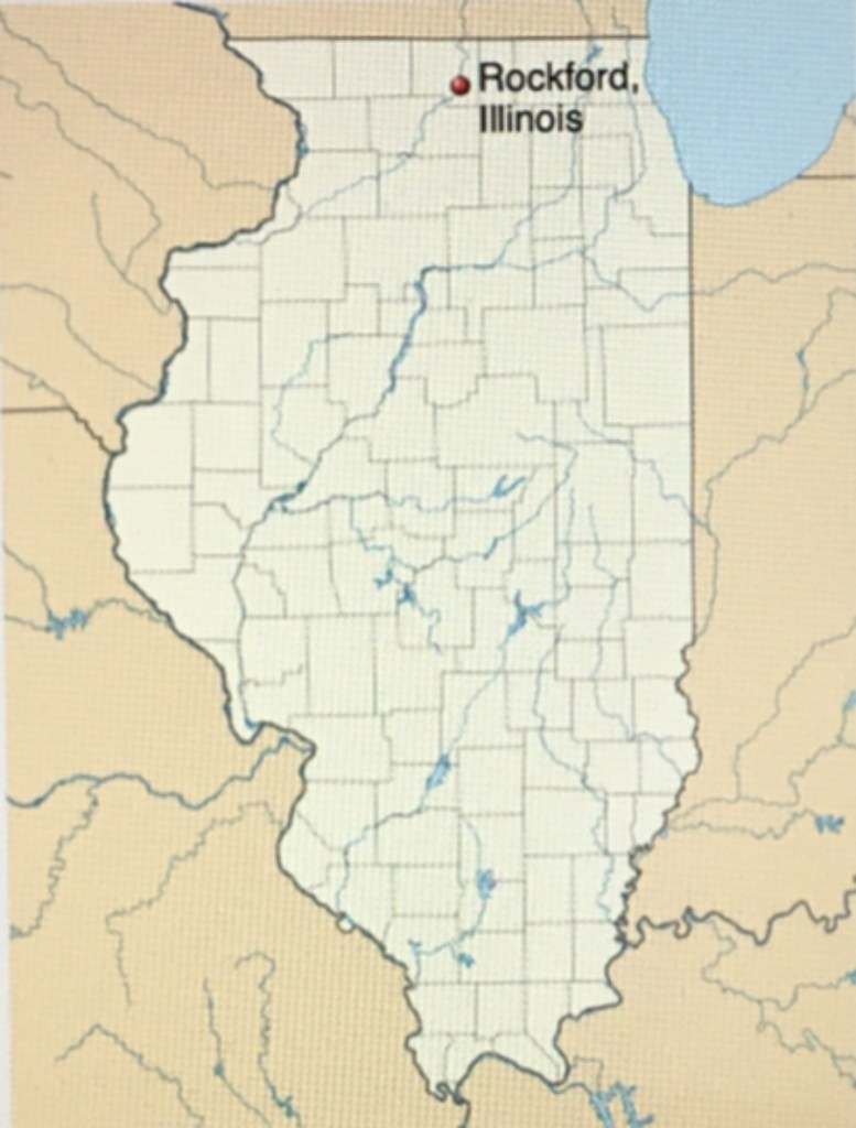 Rockford on the Map