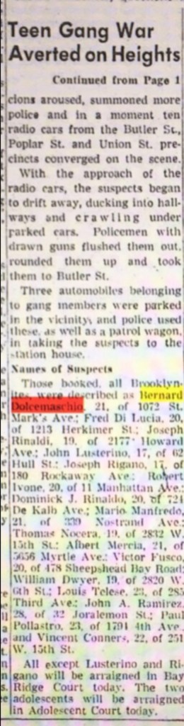 "Ocera arrested for gang war. Cops misspell his name ""Nocera"""