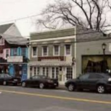 Bucolic Main Street in Huntington