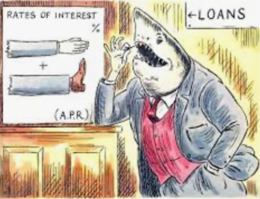 The terms of a loanshark