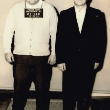 Mob associate John Nazarian (left), and top soldier Rudy Sciarra (right).