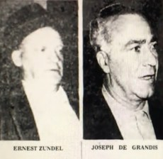 Jukebox Union racketeers and convicted extortionists Ernie Zundel and Joe DeGrandis.