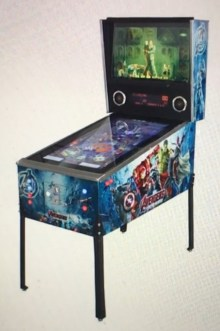 The ever popular pinball machine