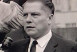 Teamsters boss James R. Hoffa