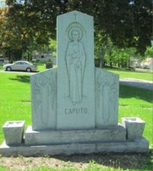 Caputo was humble in death as in life!