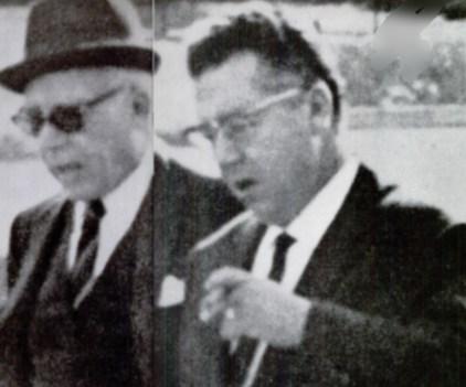 FBI surveillance of Bonanno underboss Frank Garofalo and boss Joe Cerrito in Palermo, Sicily