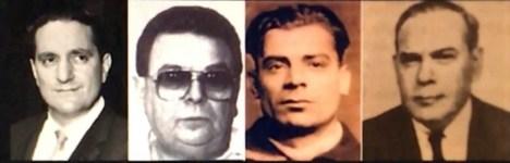 L-R: Paul Castellano, Patsy Conte, Joe Scalise, Joe Biondo