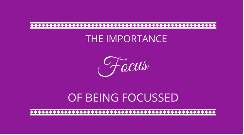 #31 The Importance of Focus