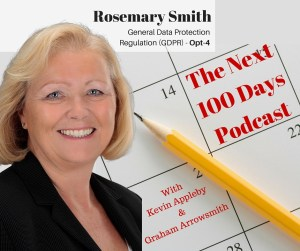 Episode 29 Rosemary Smith General Data Protection Regulation - 5 top lessons learned from the next 100 days
