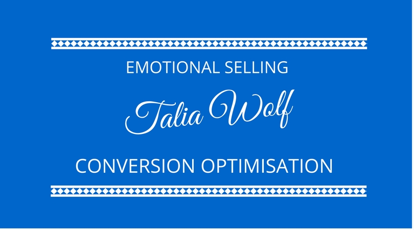 #69 Conversion Optimisation with Talia Wolf