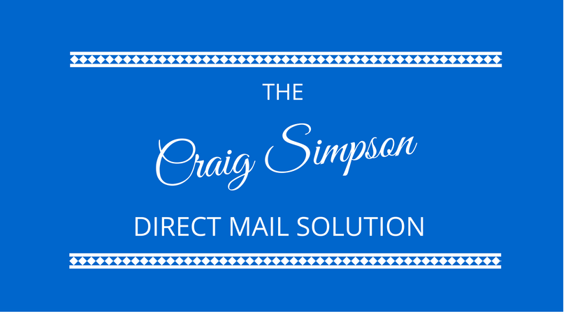 The Direct Mail Solution – With Direct Mail Expert Craig Simpson