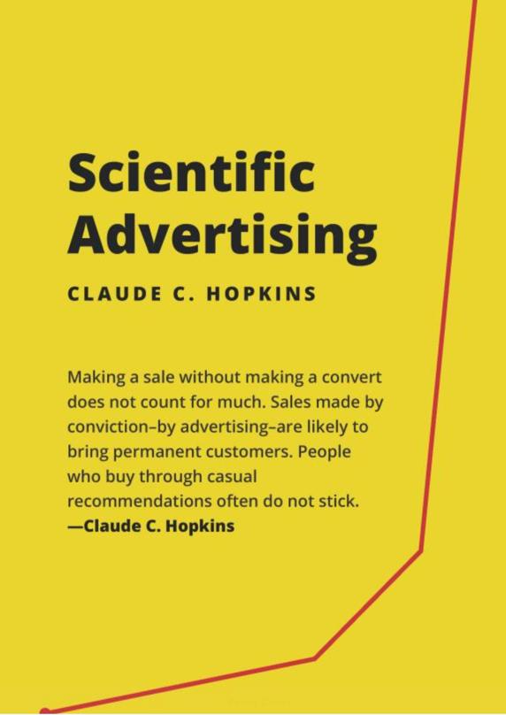 Claude Hopkins Scientific Advertising