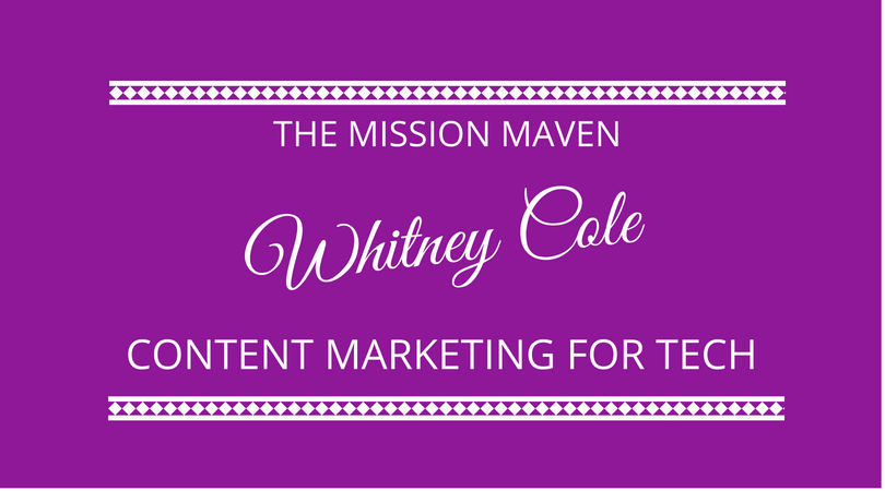 #135 Whitney Cole – Content Marketing