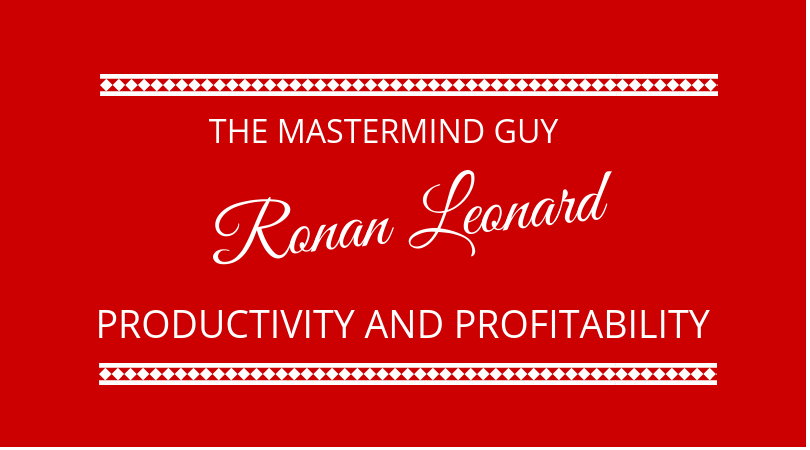 #141 Ronan Leonard – Masterminds