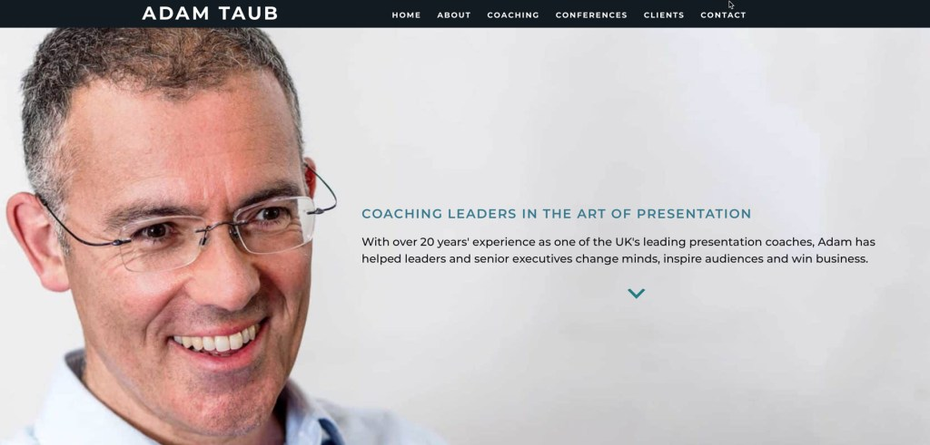 Presentation, Adam Taub, The Next 100 Days Podcast