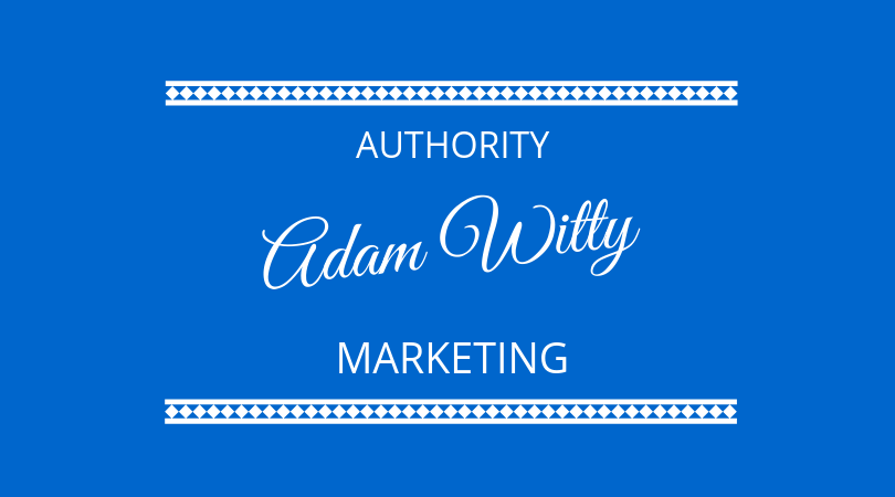 #186 Adam Witty – Puts the Author into Authority Marketing