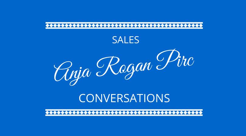 Sales Conversations with Anja Rogan Pirc on The Next 100 Days Podcast