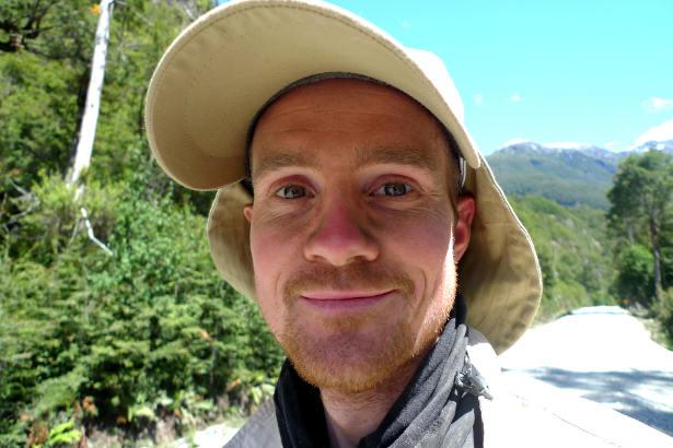 Tim Moss - Walking across Patagonia