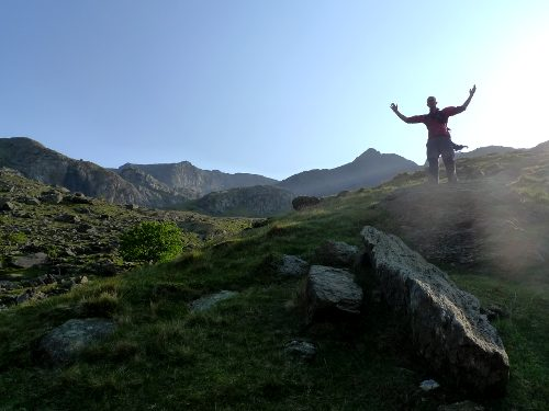 Wave of glory, Crib Goch, Snowdonia