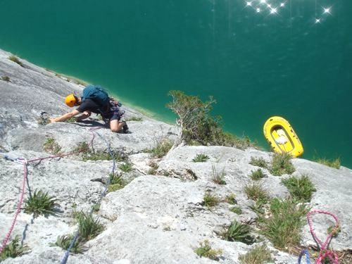 Sea Cliff Climbing - Photo: Thom Allen