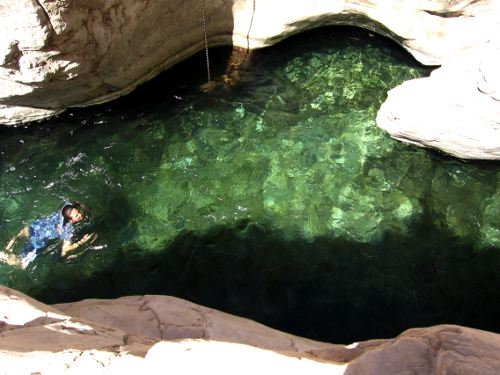 Wadi Bani Khalid, Outdoor Wild Swimming Oman