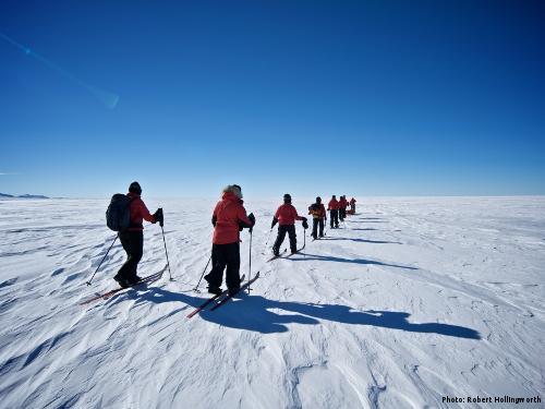 Commonwealth Antarctic Expedition (Photo: Robert Hollingworth)