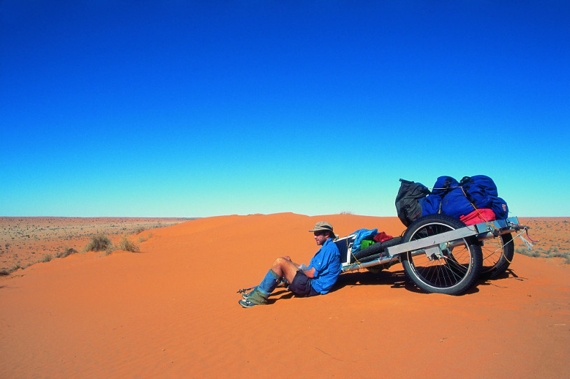 Lucas Trihey's desert cart: The Paddy Wagon