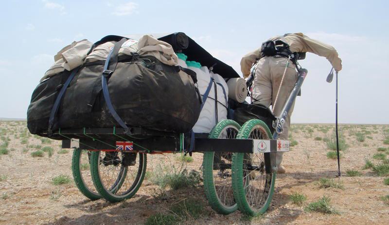 Ripley Davenport's desert cart: Molly