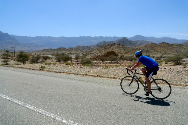 Cycling out of Muscat