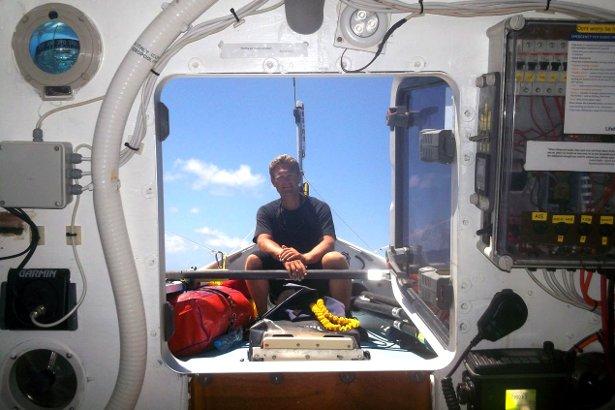 Lloyd Figgins Rowing the Atlantic Ocean
