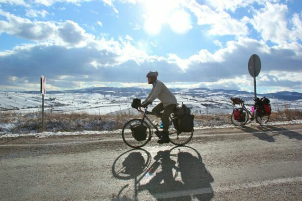 Cycling in a Turkish Winter