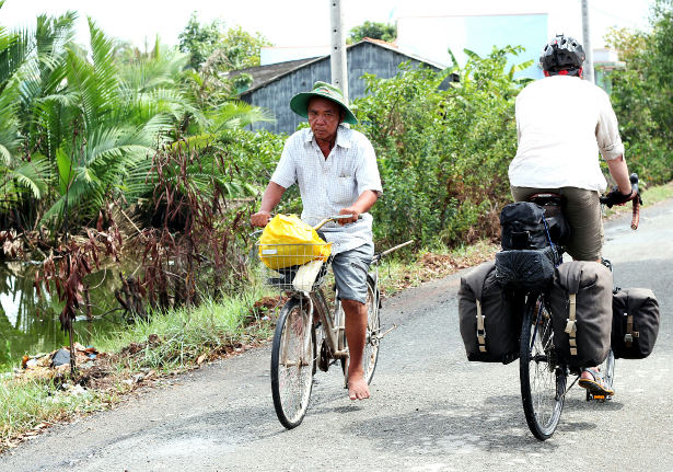 Cycling through South East Asia