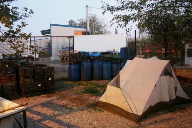 Worst Campsite Ever?