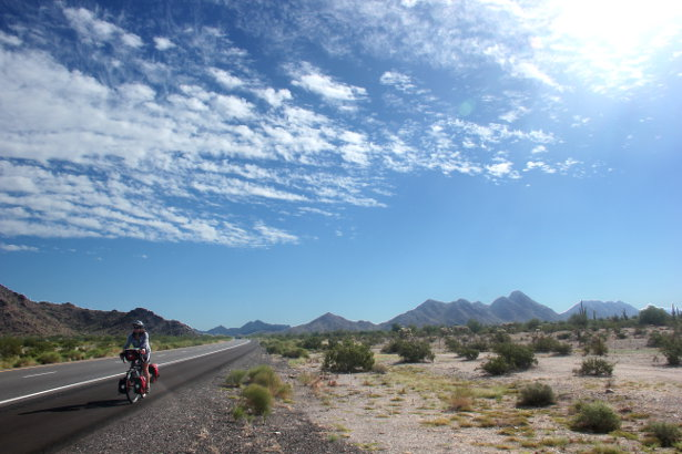 Big skies in the Sonoran Desert